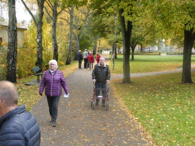 Skön promenad fast nästan november