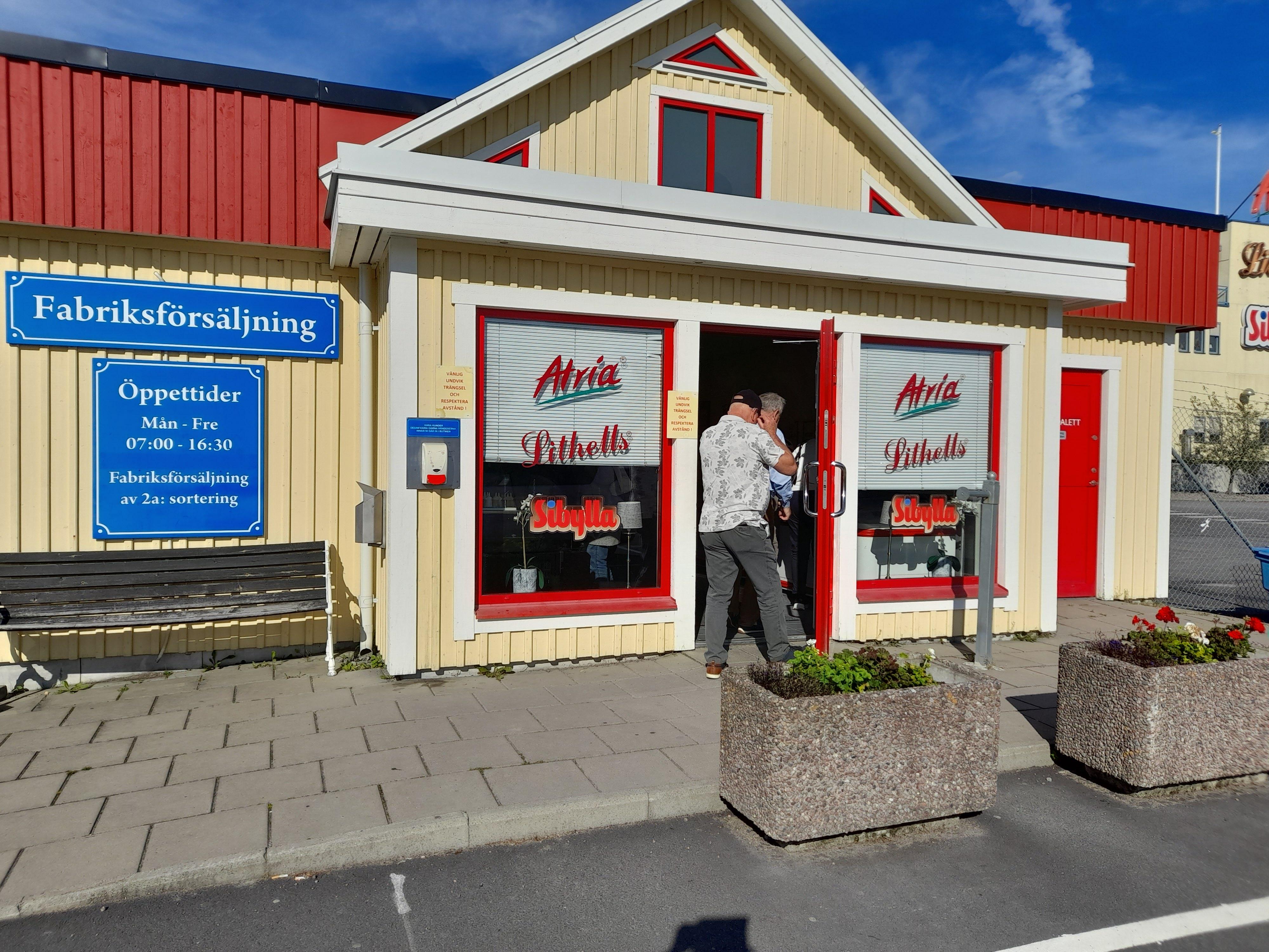 Litells fabriksförsäljning i Sköllersta,Örebro