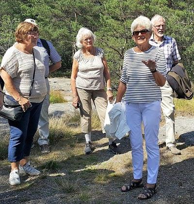 Vår guide Marianne berättar