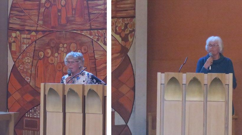 Ulla Johansson och Anita Carlqvist Nordin berättar om Väntjänsten