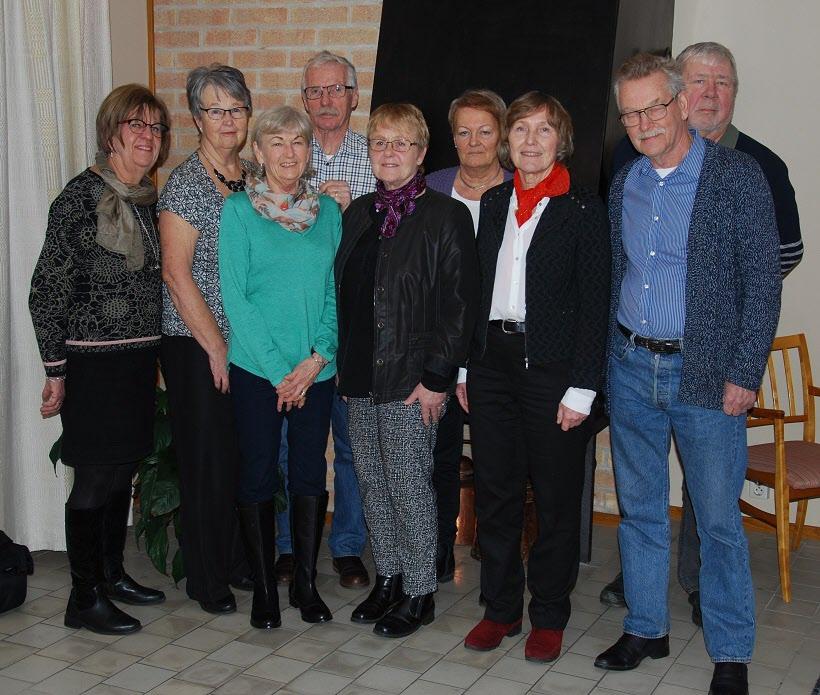 SPF Seniorerna Kiladalens styrelse 2019.