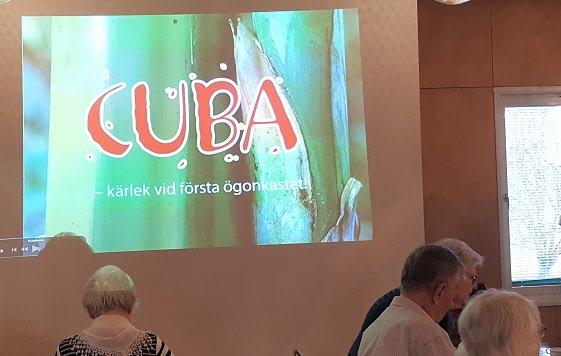 """Cenneth Carlssons """"Kärlek vid första ögonkastet"""" till Cuba"""