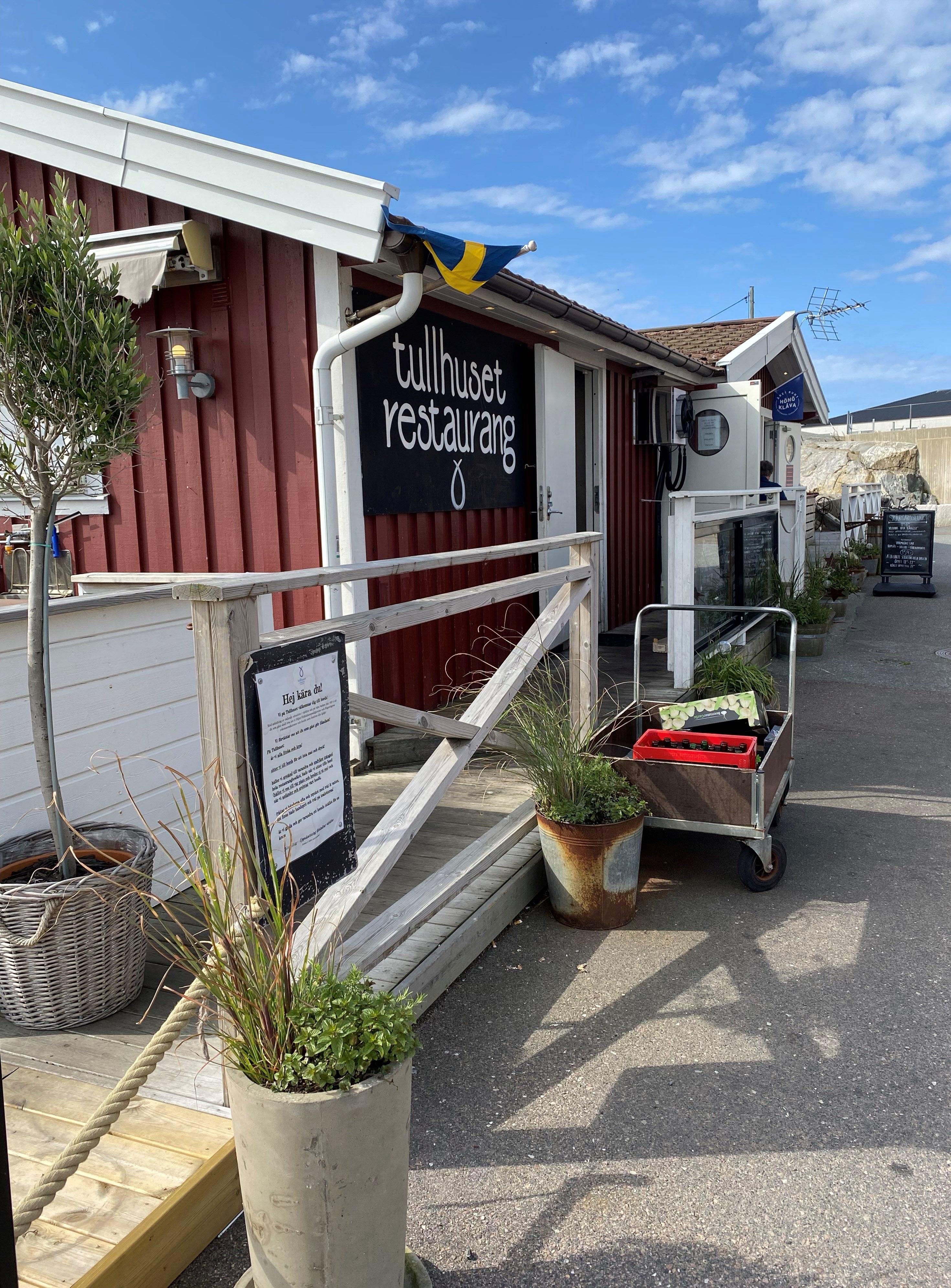 Restaurang Tullhuset, Hönö