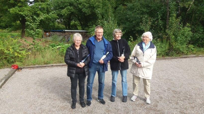 Lena, Ulf, Birgit och Astrid