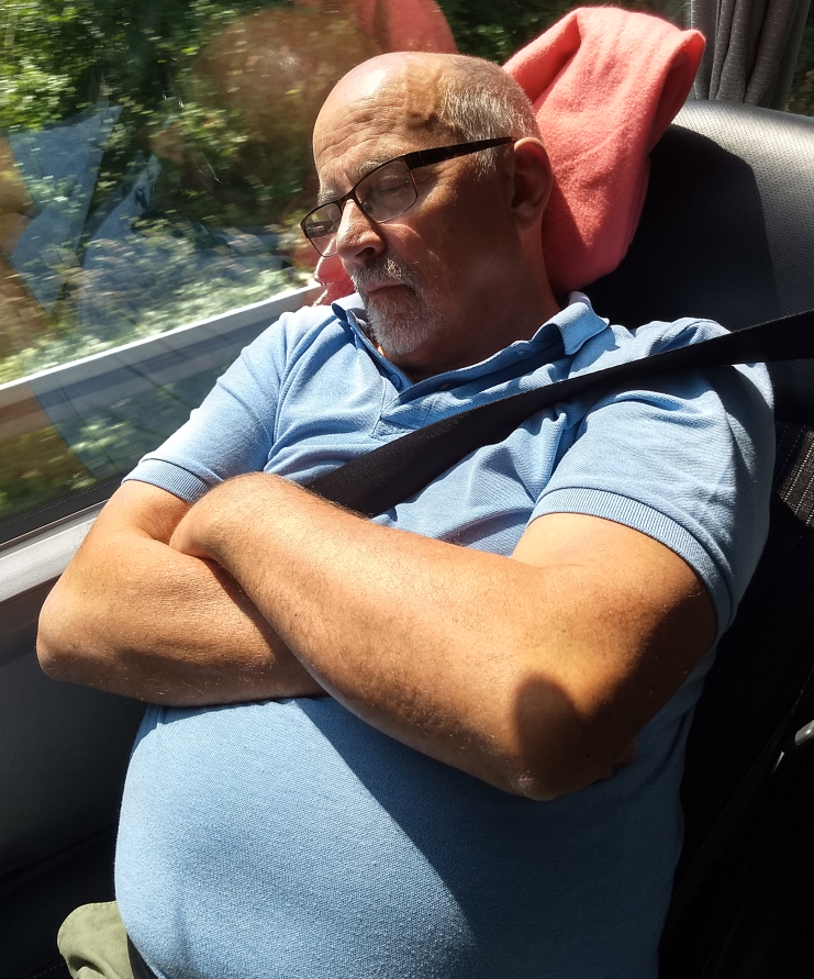 Det var inte bara Arne som sov på hemvägen, det kan jag lova.
