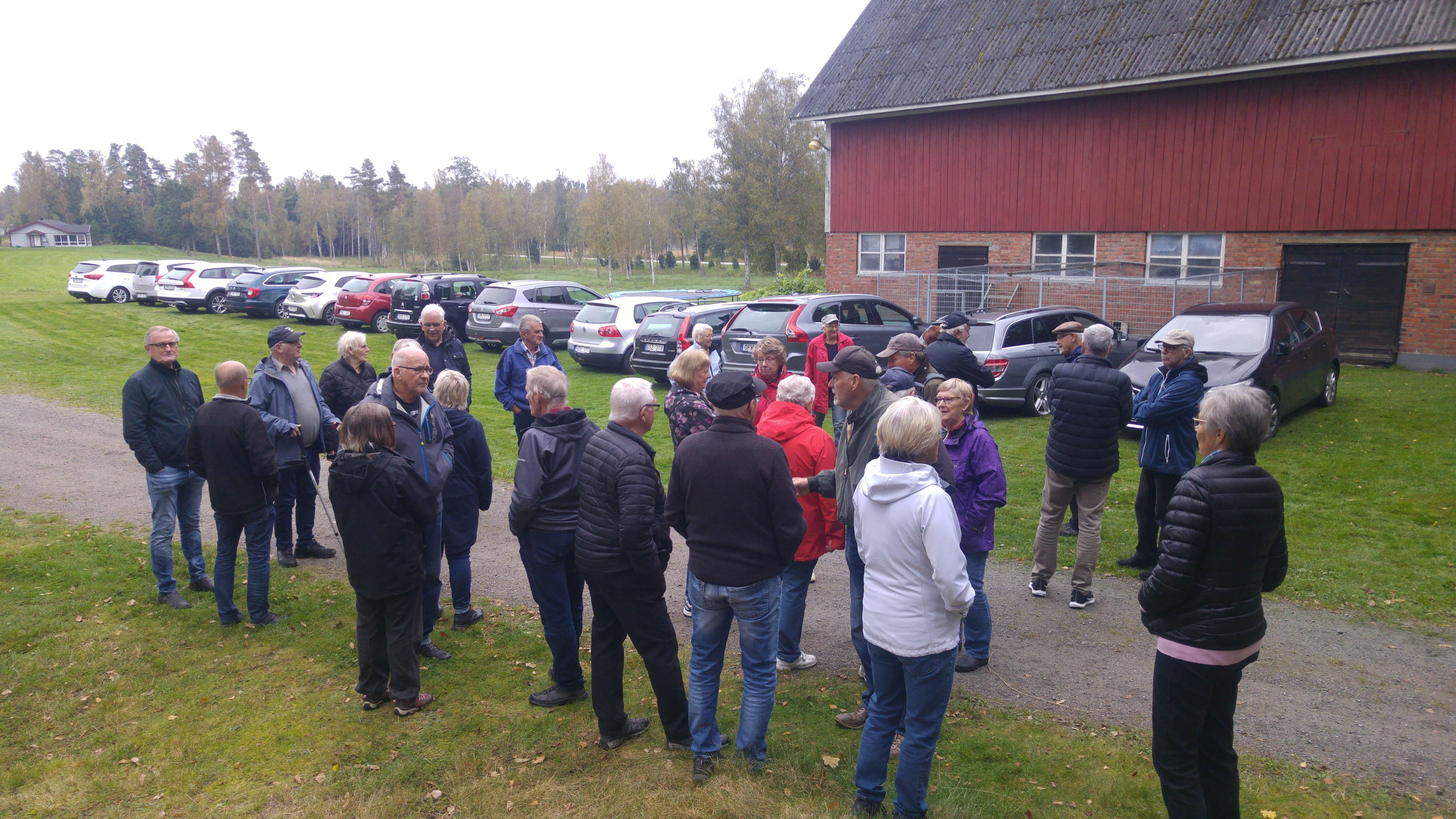 Samling hos Bodil och Bengt Johansson