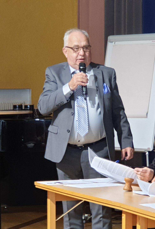 Åke Persson distriktsordförande i Halland