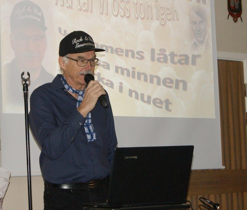Björn Hemstad sjunger och berättar