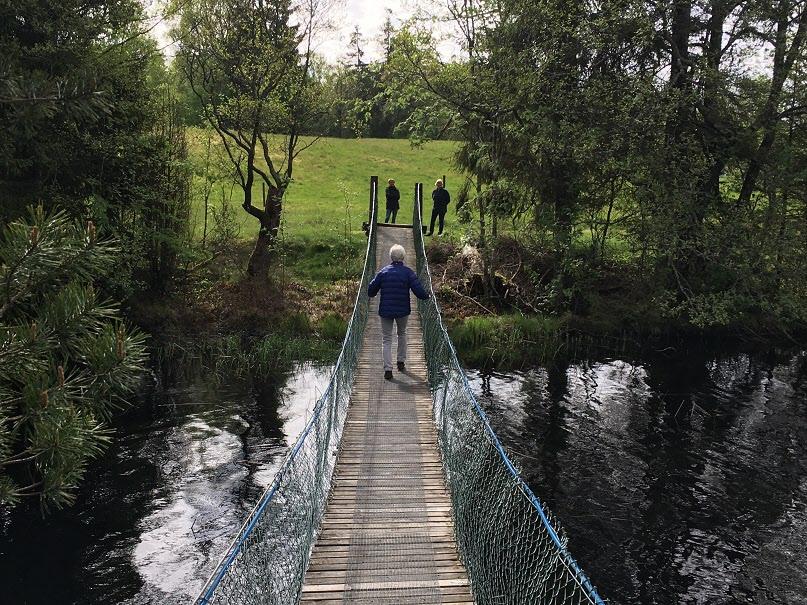 Hängbron i Tryggsborg