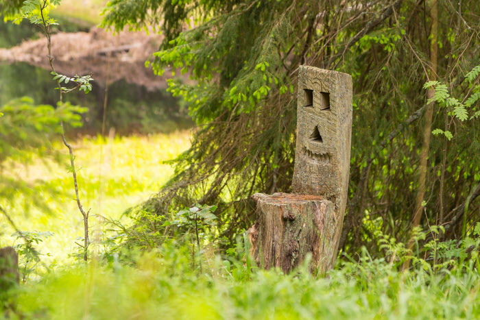 En bekväm stol i skogen, med egen själ?