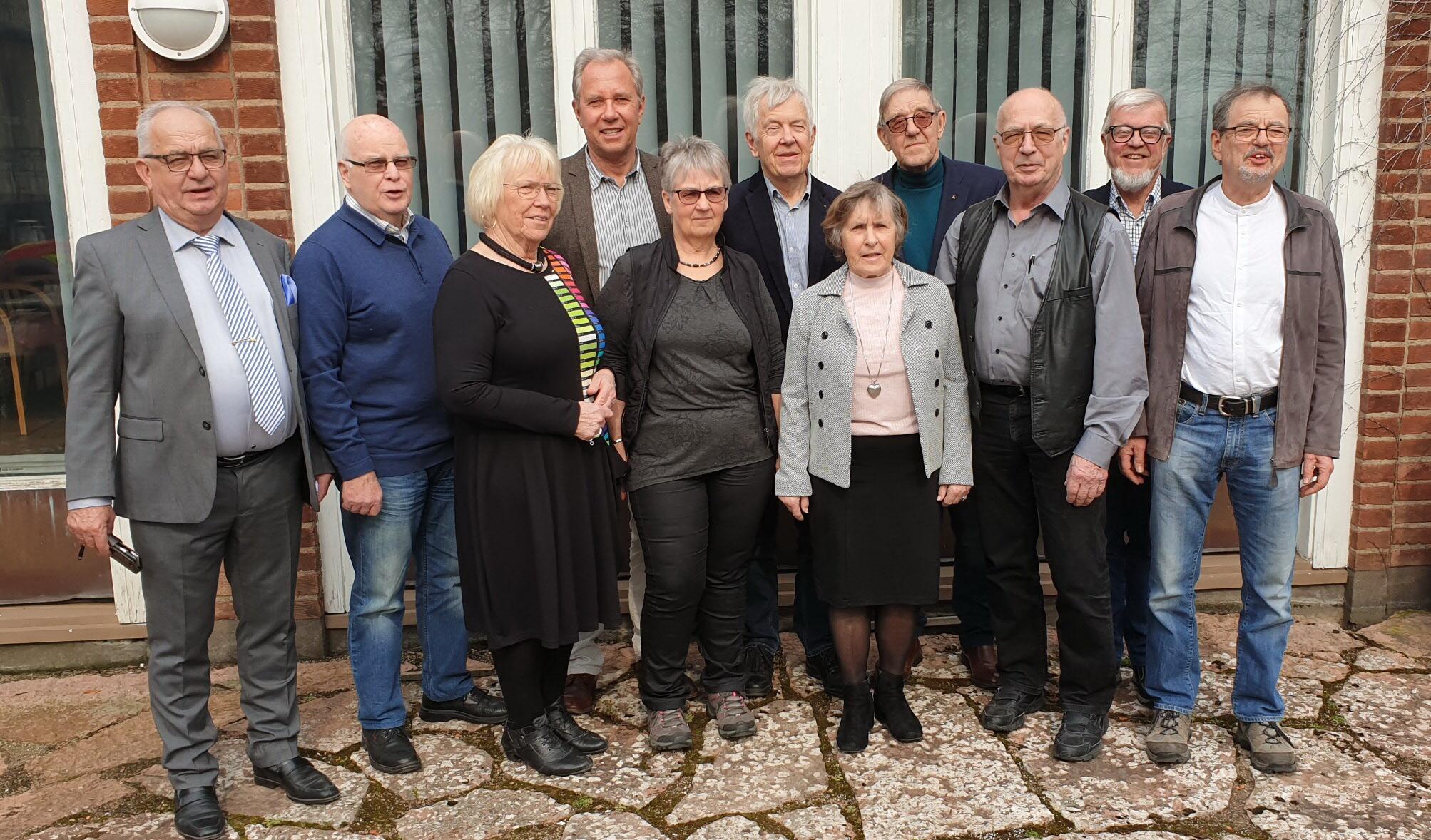 Distriktsstyrelsen 2019. Foto: Erik Jansson