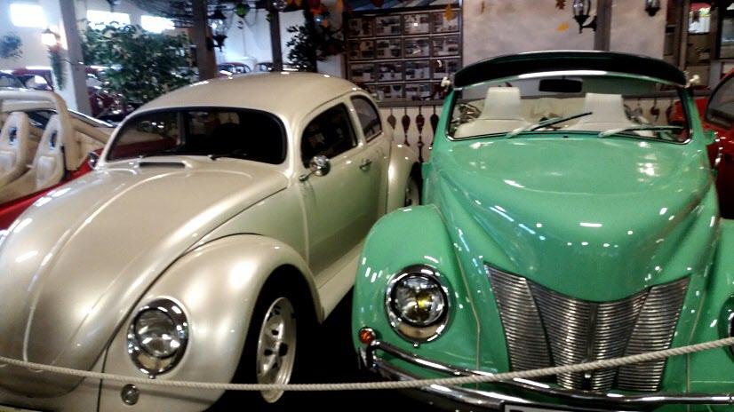 Många av bilarna har vunnit priser.