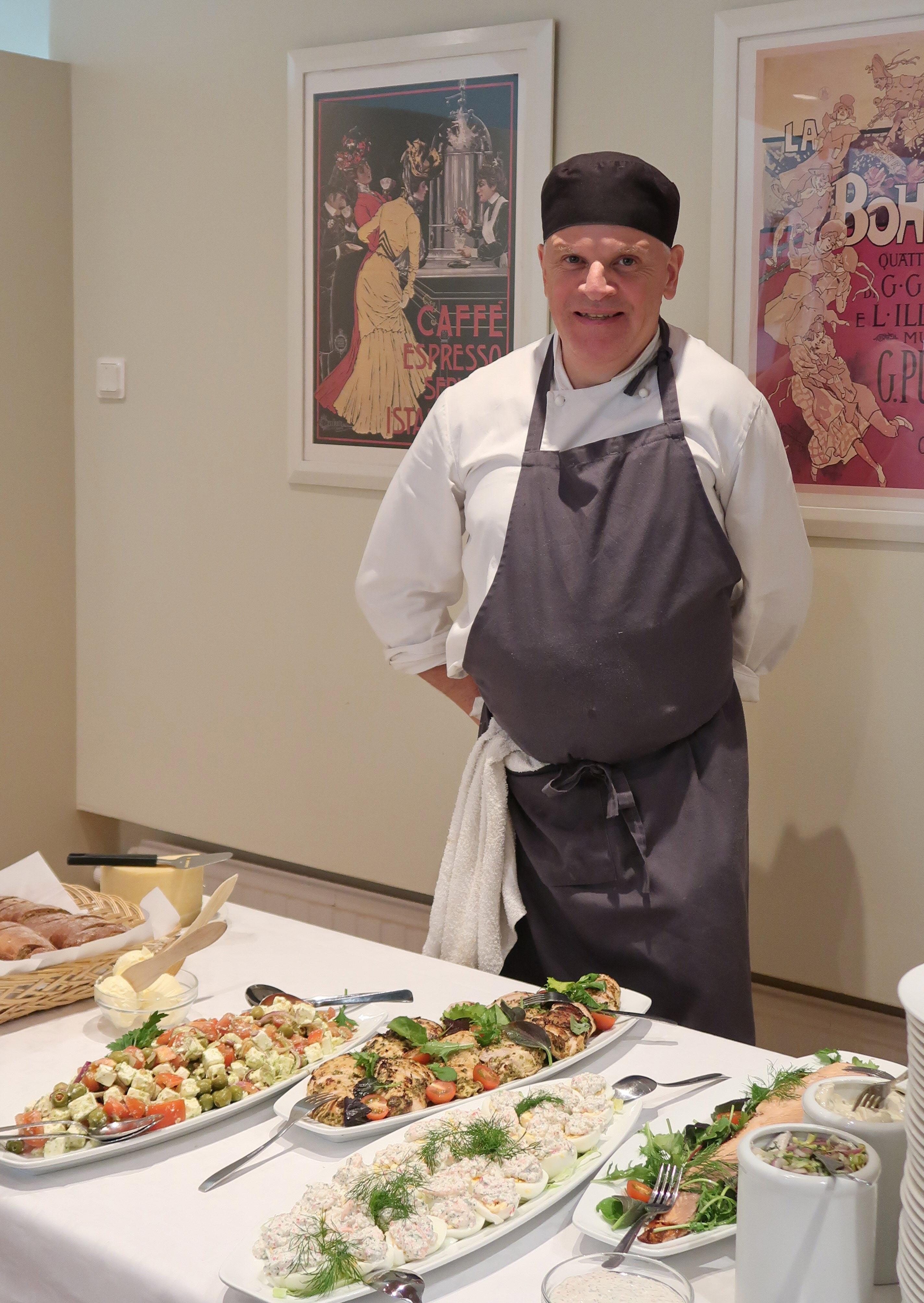 Anders Söderholm står bakom den goda maten