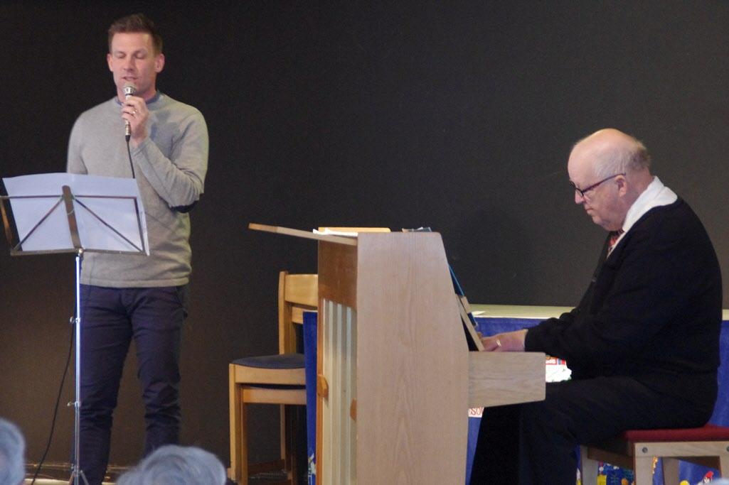 Roger Sandström och Jan Reinholdsson
