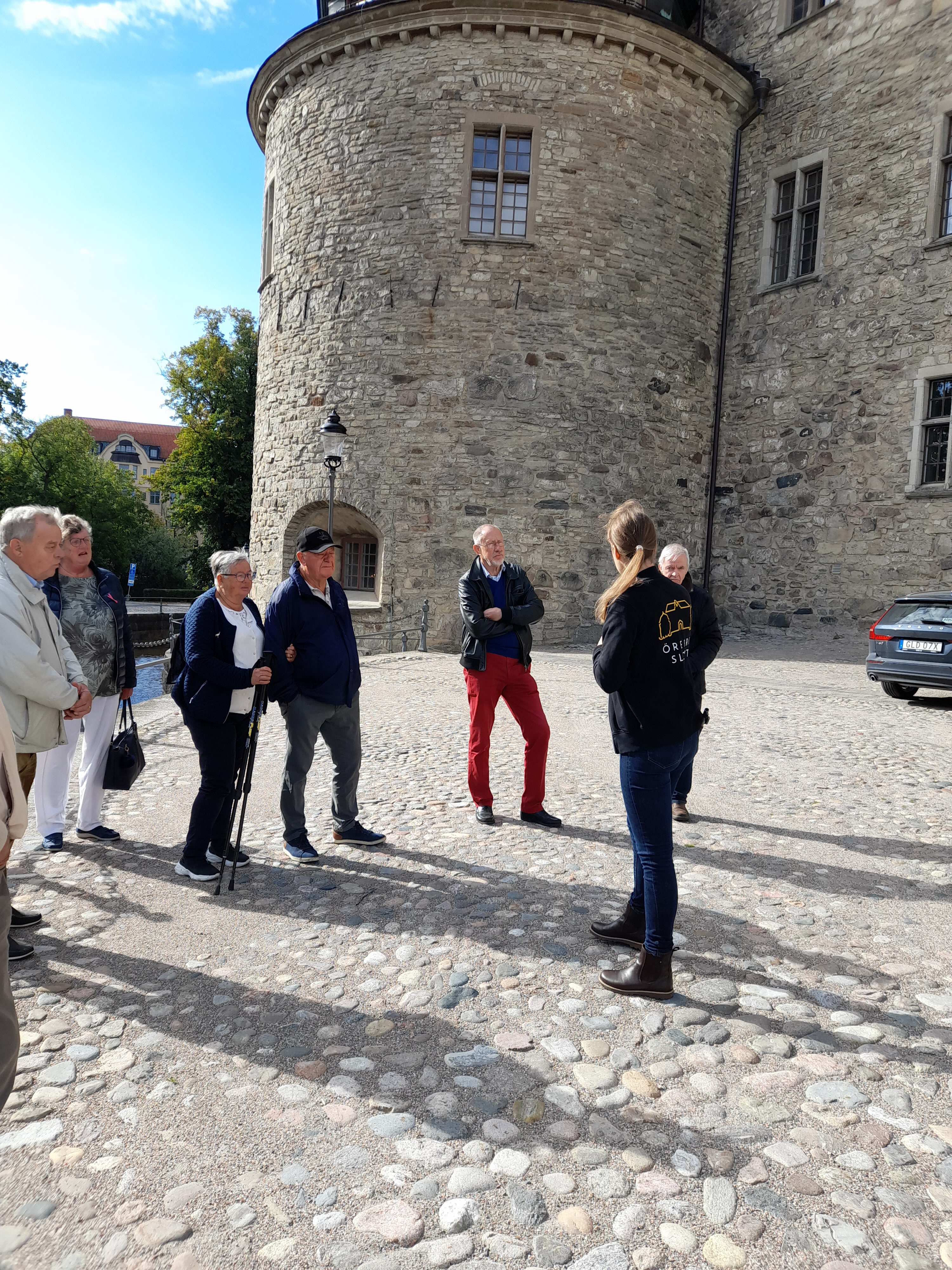 Guidning på Örebro slott