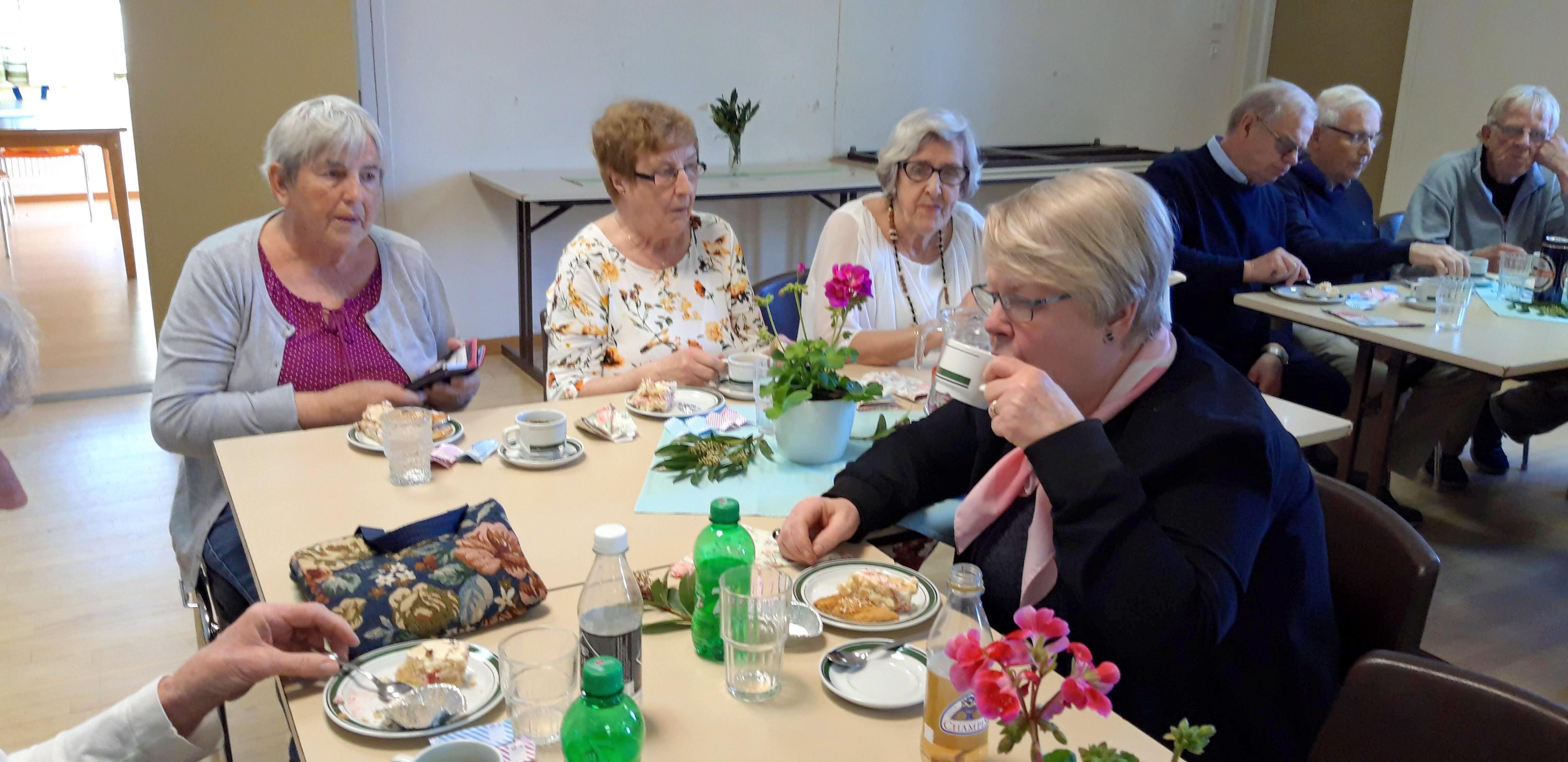 Ingrid, Britta och Gunnel - dagens värdinnor