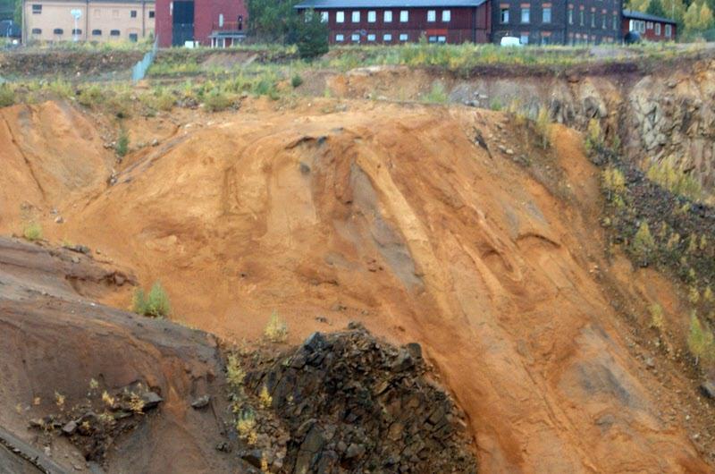 Bild på gruvan