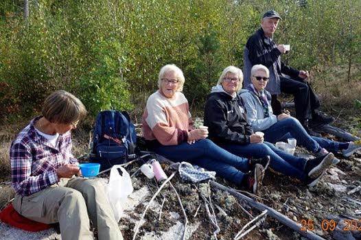 200925 Vandring vid OK Hällen