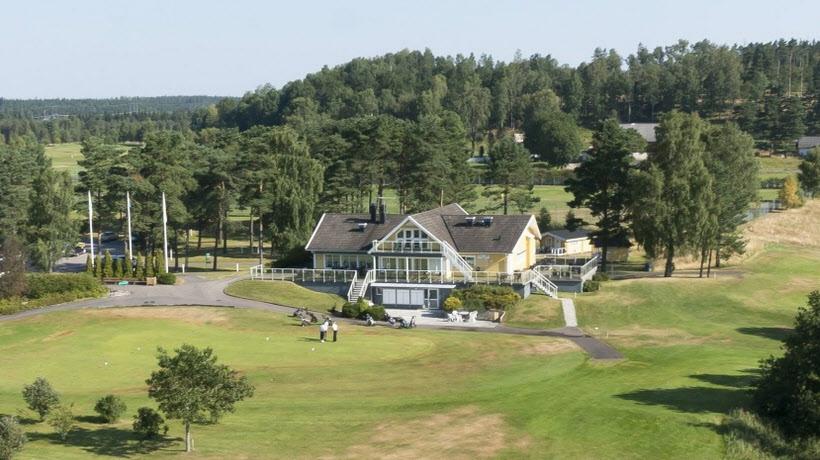 Eftermiddagsfika på Kinds golfklubb