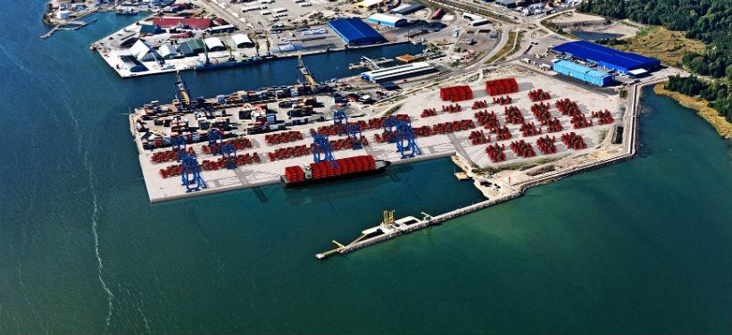 Den nya hamnen