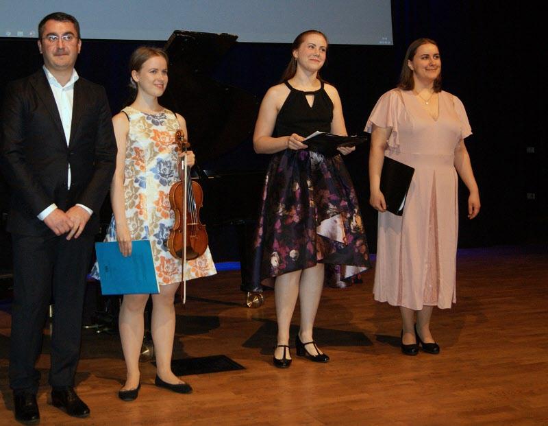 Studenter från kammarmusikerutbildningen på Mälardalens Högskola