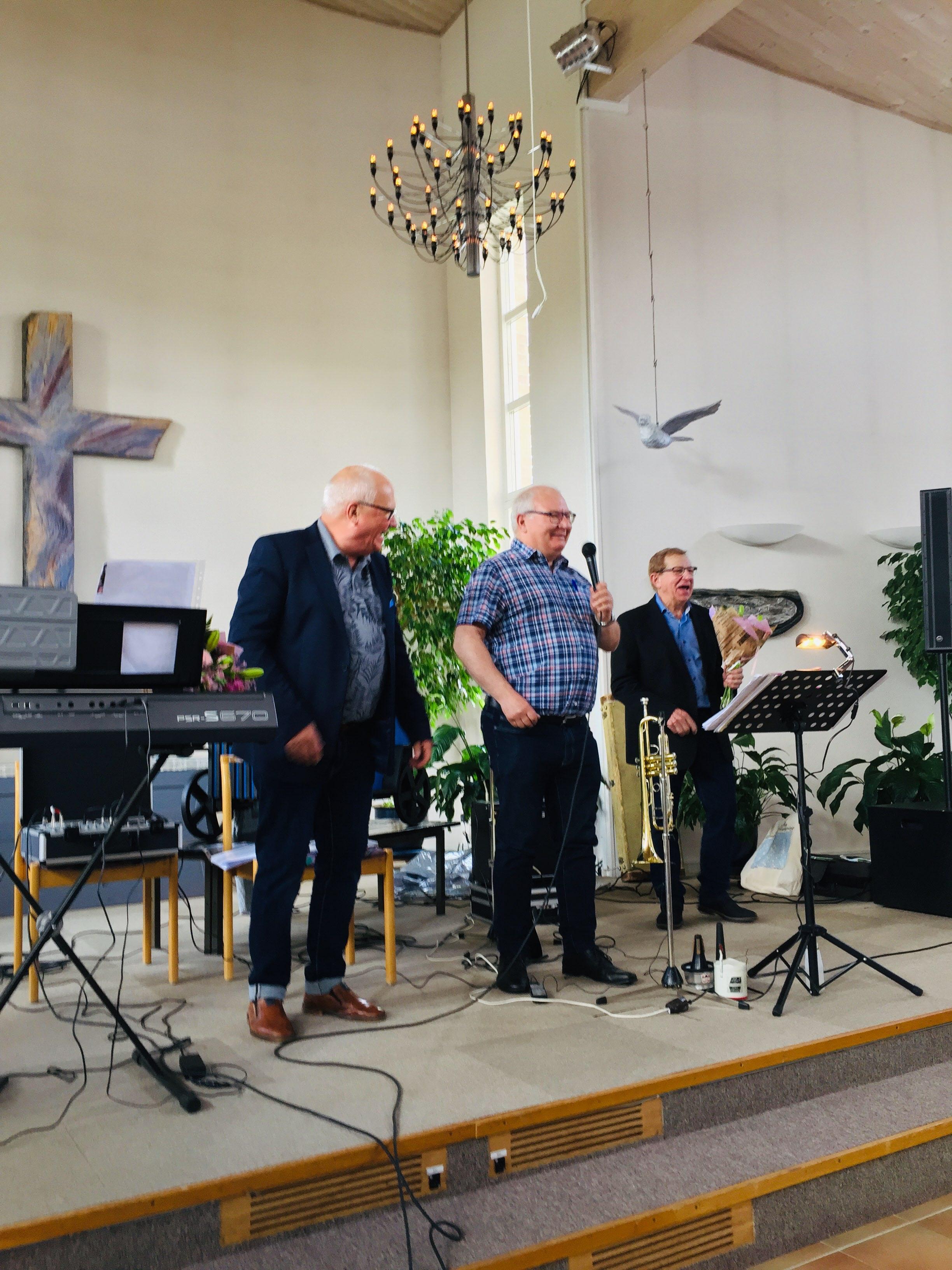 Trasten, Erland Andersson och Gert Blom