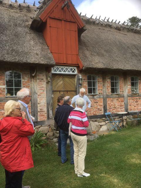 """""""Linnart"""" berättar om huset som troligen flyttats från Hissbro till Övad-Nybygget och tillbaka igen"""