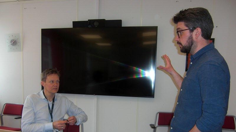 Paolo instruerar föreläsare