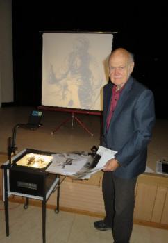 Peder Claesson berättar om Albert Engström