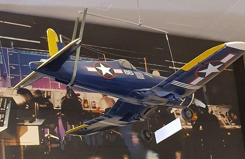 Ett av flygplansmodellerna