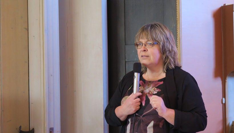 Annhörigkonsulent Annika Hallkvist