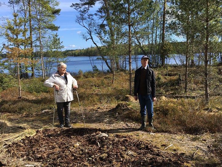 På Jättaberget har vid guide också!