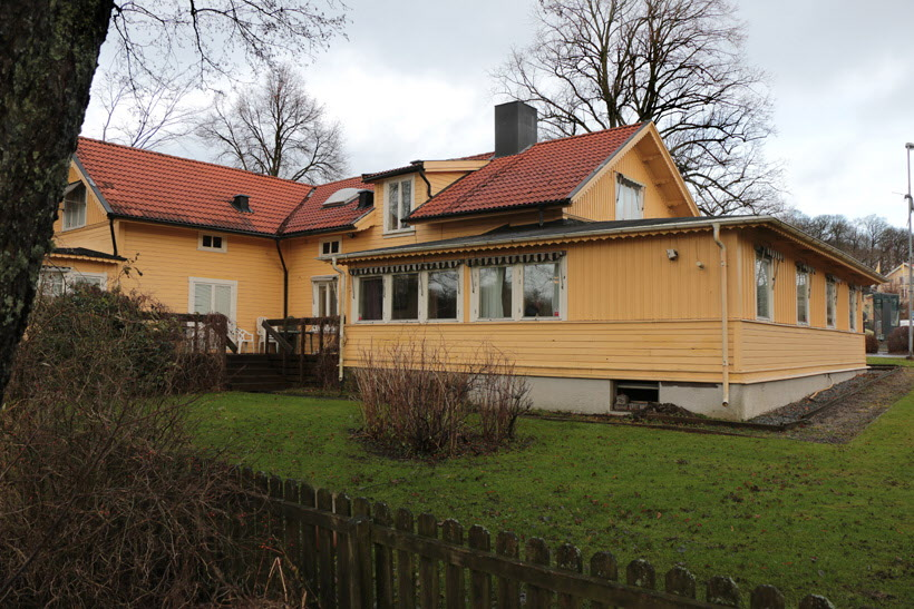 Strandvillan, nov. 2017. Bild Ove Sjöstrand