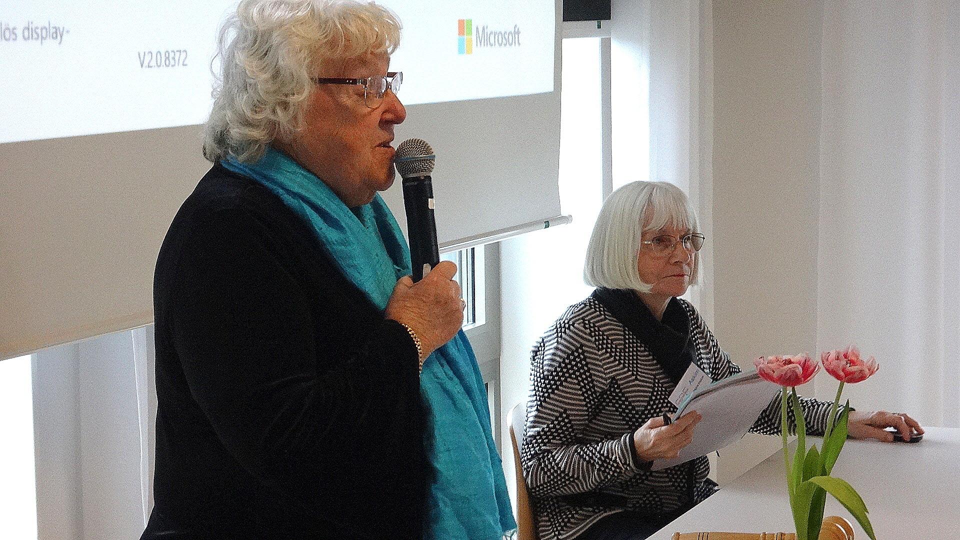 Gudrun informerade om de olika aktiviteterna