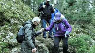 Vandring i Lunnsjöskogen