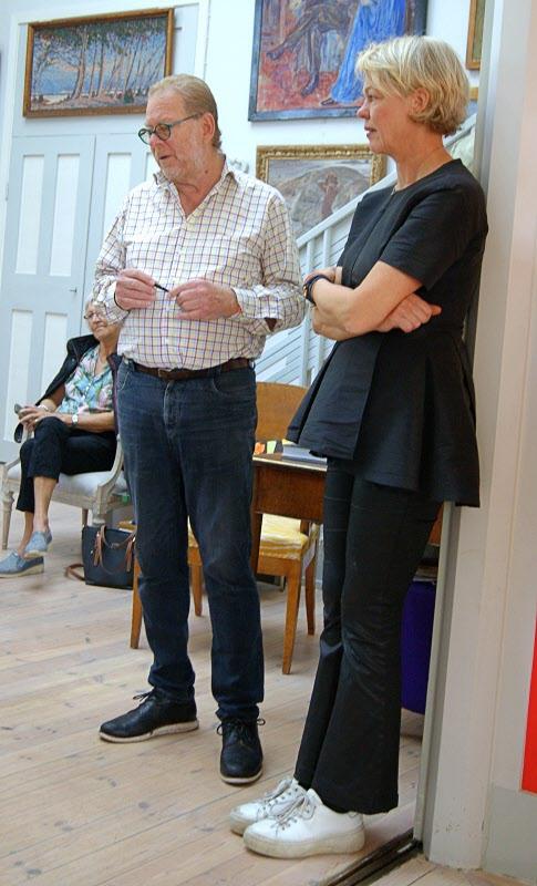 Claes Moser och hans fru Sanna Evers