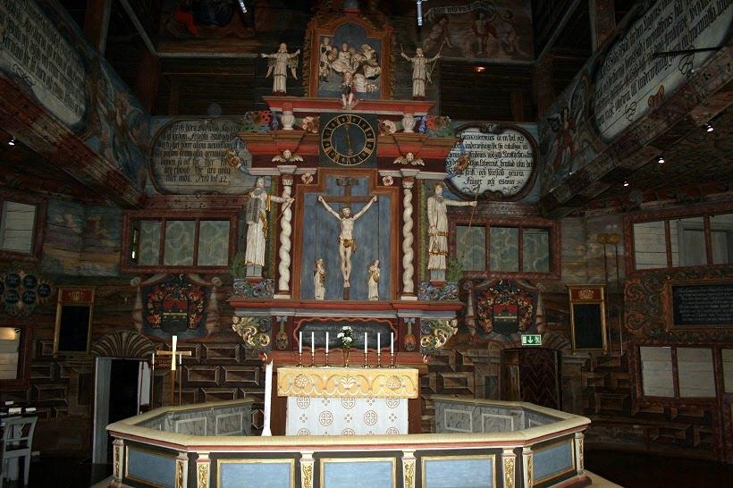 Habo kyrka altaret