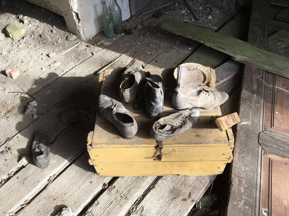 Länge sedan de här skorna användes.