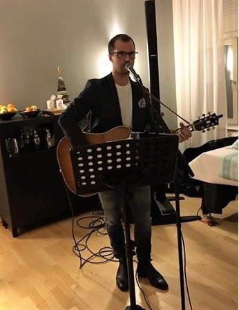 Kvällens trubadur  Peter von Rennenkampff