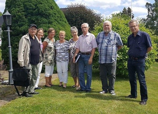 SPF Seniorerna Kiladalens styrelse hemma hos Inger Frisk