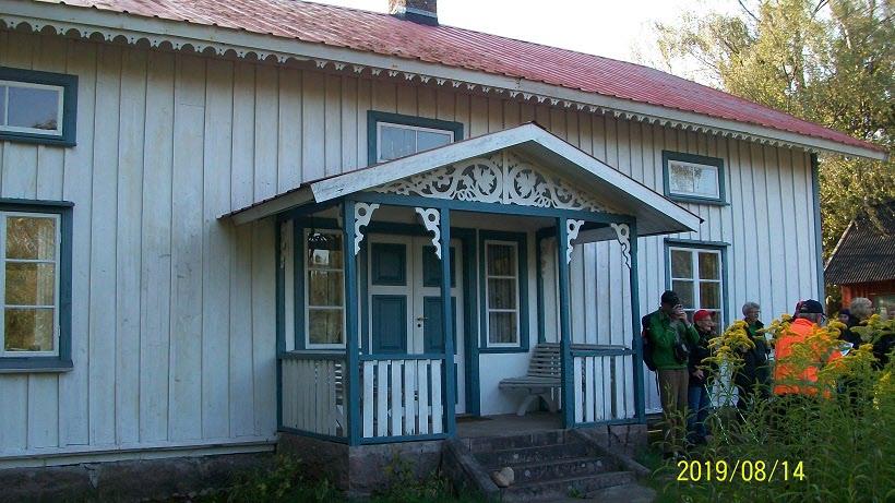 Här bodde Efraim Svärd med sin hushållerska i 40 år.