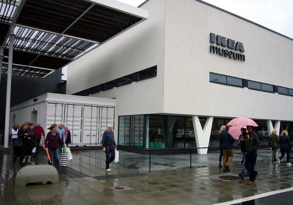 Mätta och belåtna lämnar vi IKEA museum
