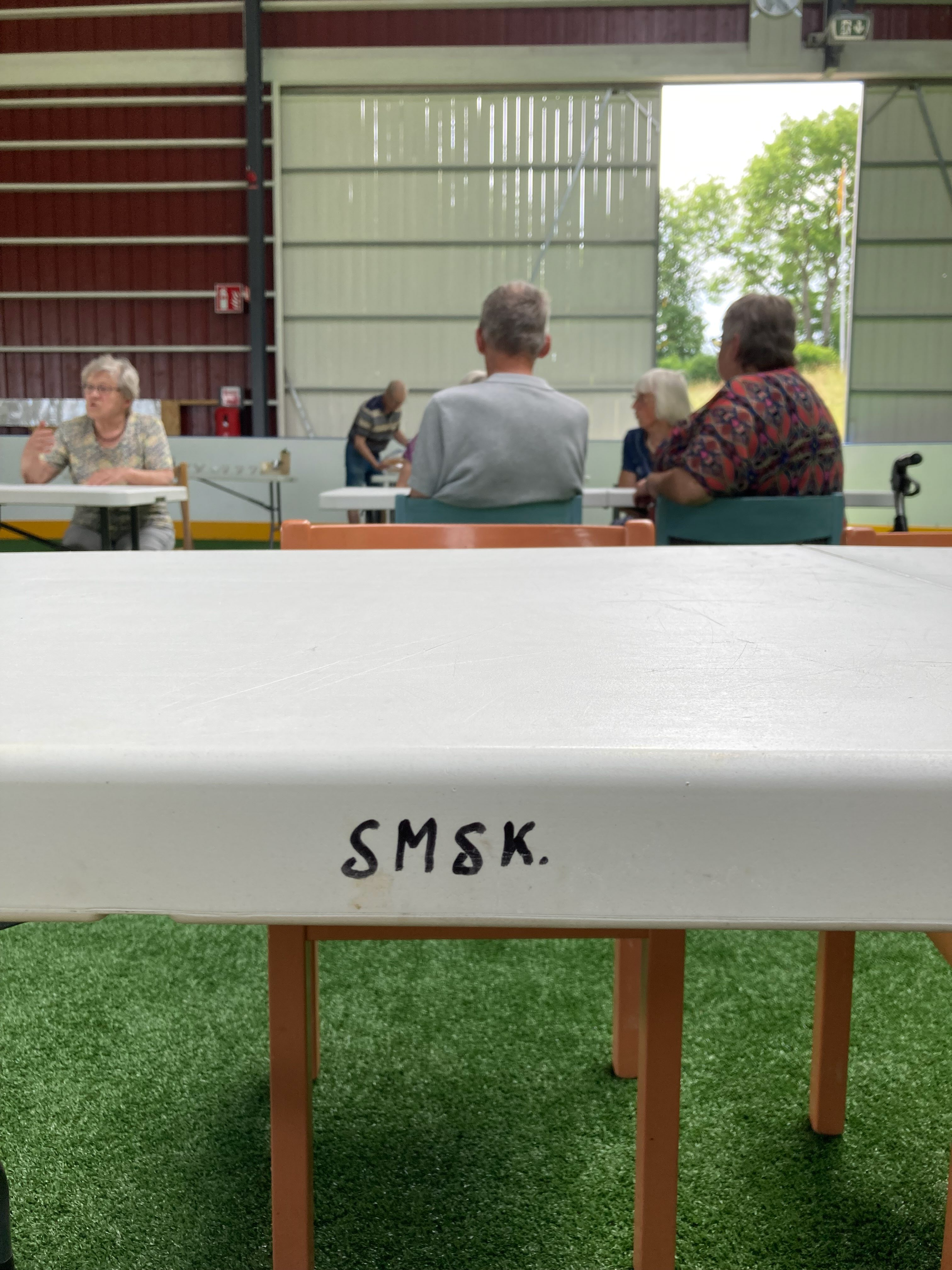 Sportklubben SMSK har gjort ett fantastiskt arbete för att möjliggöra arenans tillkomst.