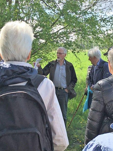 Rune Ericsson berättar om Kappla källa.