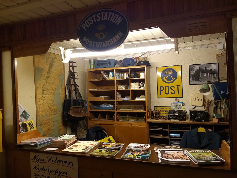 Ett postkontor från tiden när det fanns riktiga postkontor och posten kördes ut till kunden, inte deras brevlåda flera km hemifrån.