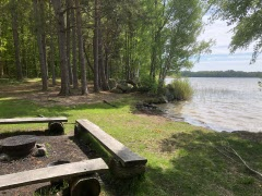 Promenaden längs Färskesjön 2021-06-03