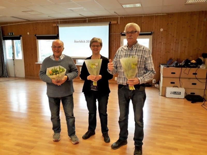 Avtackning Agne, Yvonne & Sven