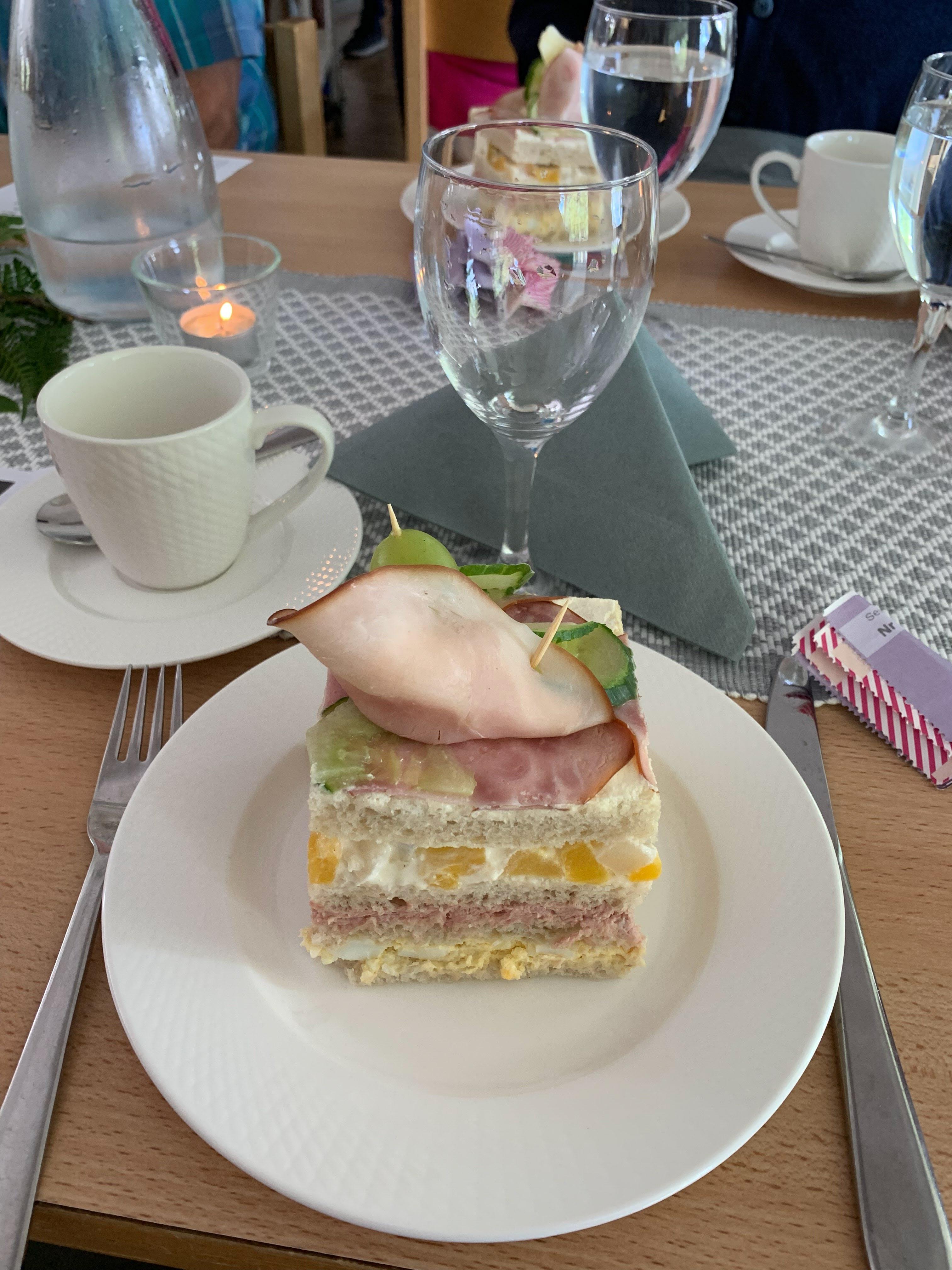 Smörgåstårta från Slussen