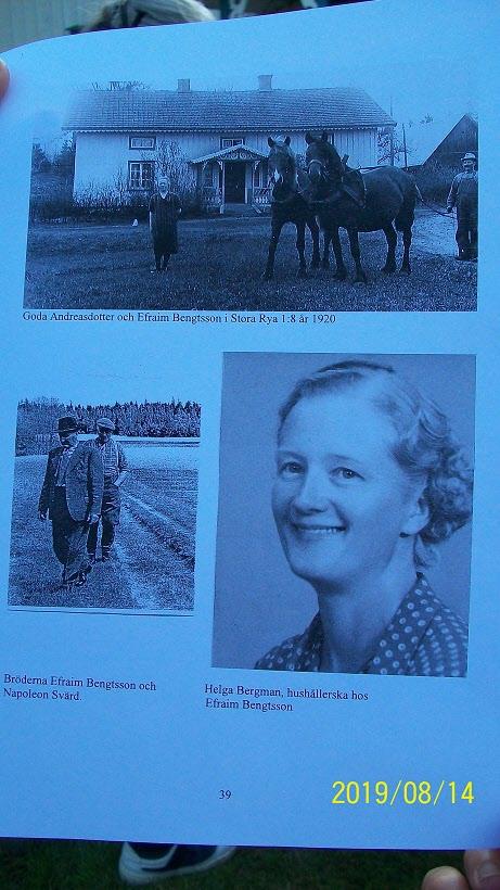 Hushållerskan Helga Bergman