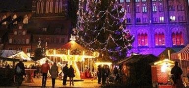 Julmarknad i Stralsund 5 - 7 dec 2021